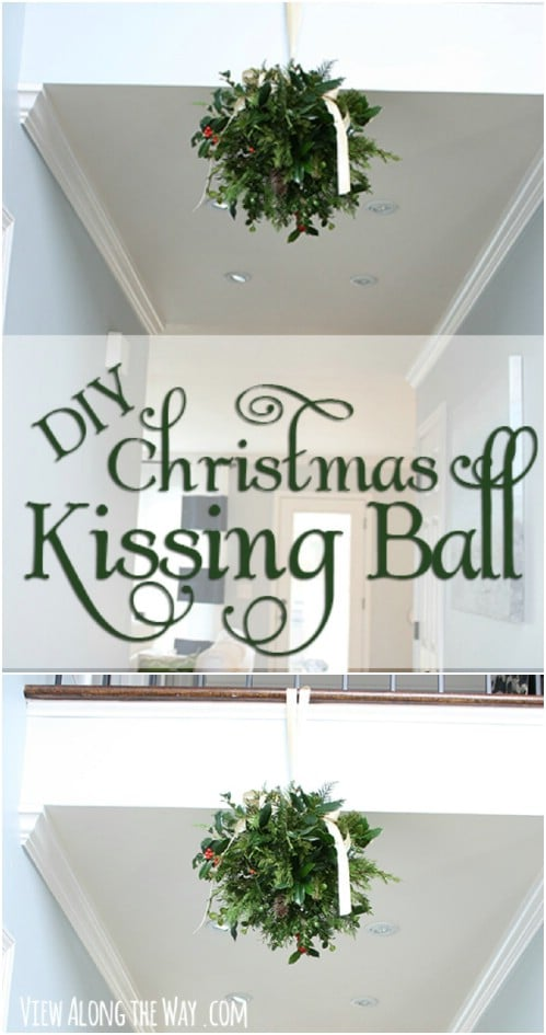 Fun And Festive Holiday Kissing Ball