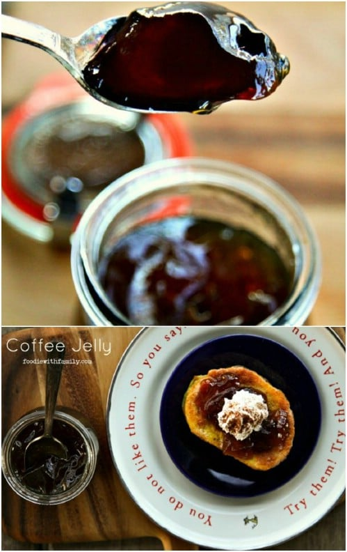 Yummy Homemade Coffee Jelly