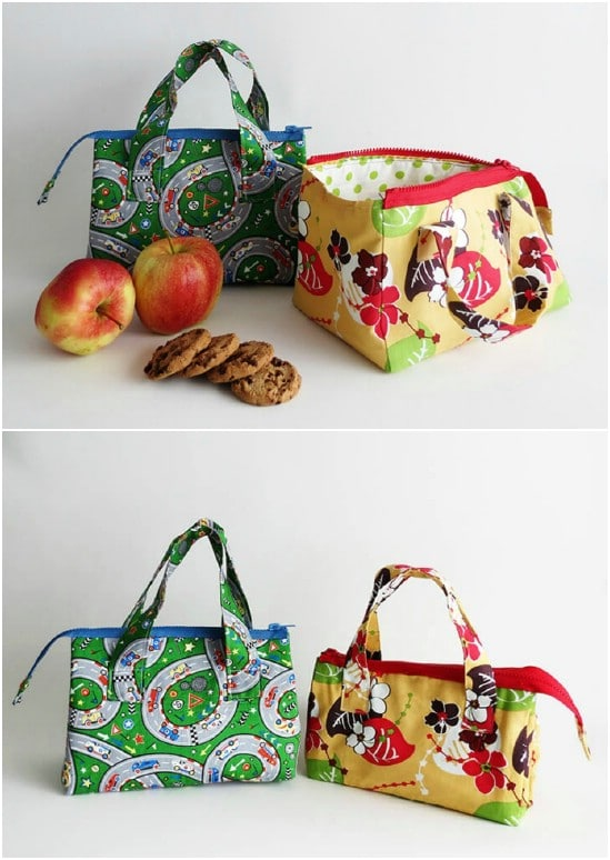 10 Easy To Sew Diy Lunch Bags And Pouches For Kids And
