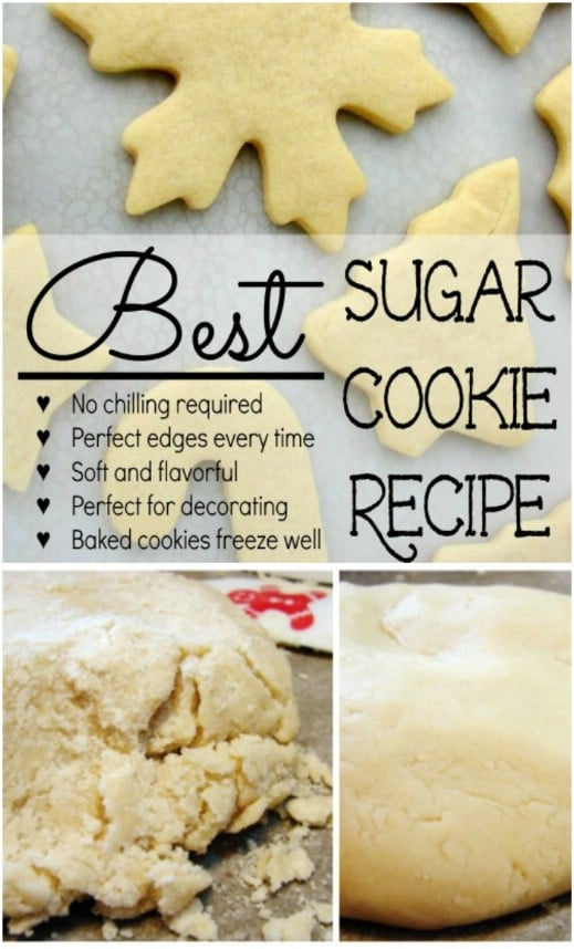 Family Favorite Sugar Cookies