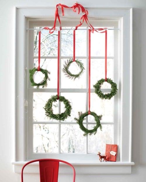 Mini DIY Evergreen Wreaths
