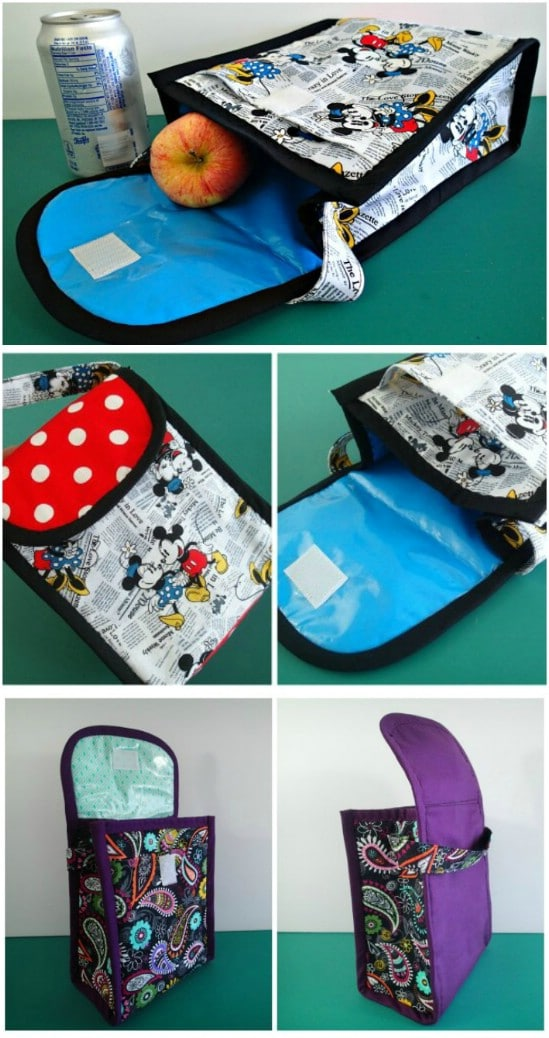 Simple DIY Insulated Lunch Bag