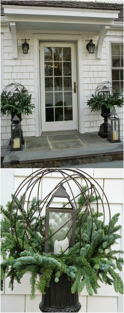 14 Rustic Diy Christmas Decor Ideas For Front Porch