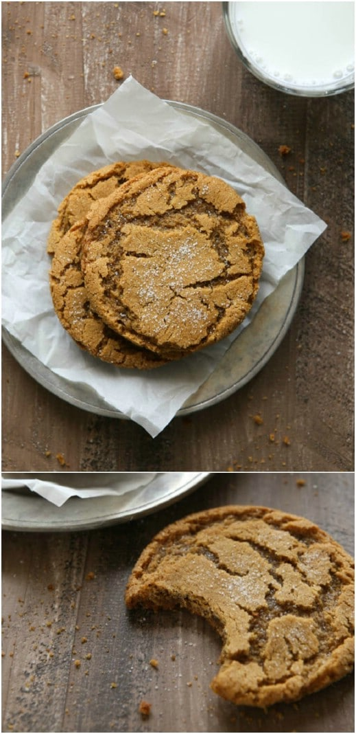 Yummy Chewy Gingersnap Cookies