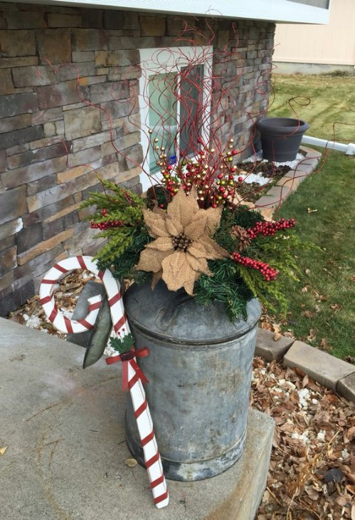 Rustic Diy Christmas Decor Ideas For Front Porch
