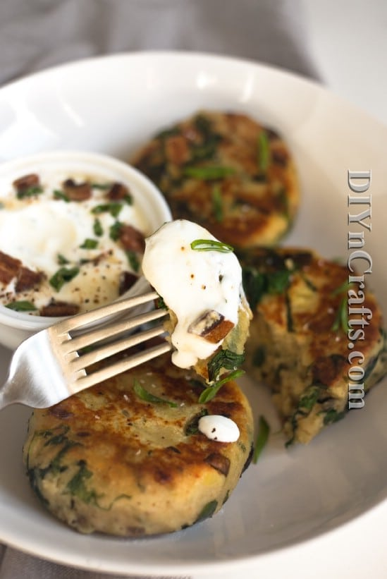 Serve with sour cream for a delicious and easy appetizer