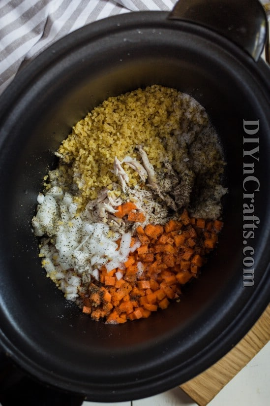 Assemble all of your ingredients in a slow cooker and then relax while dinner cooks itself
