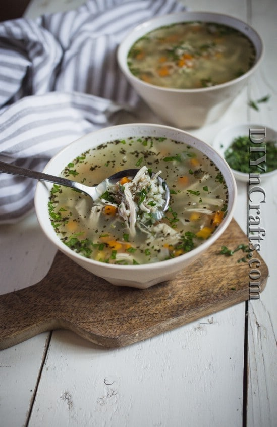 Serve with rolls or just by itself - This is a soup that everyone in the family will love