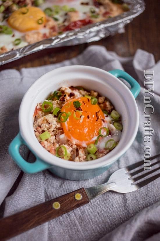 One Pot Egg And Turkey Bake Recipe