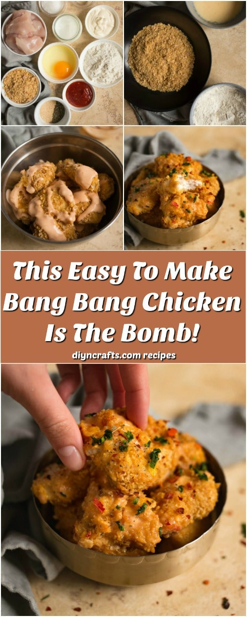 This Easy To Make Bang Bang Chicken Is The Bomb!