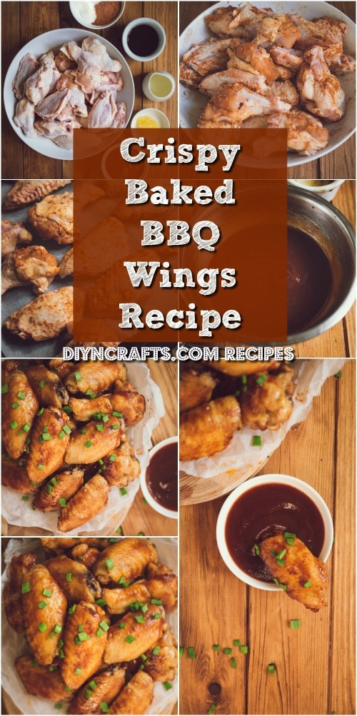 These Quick And Easy Crispy Baked BBQ Wings Are The Perfect Party Appetizer