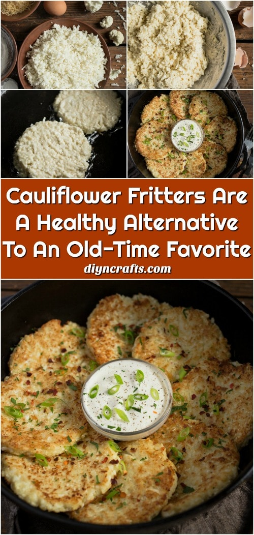 Cauliflower Fritters Recipe - You're going to love these fritters and so is your family. And, if you are growing cauliflower in your garden, this is the perfect way to prepare it. Plus, you could make these up ahead of time and even freeze them for later. One medium head of cauliflower makes several fritters!