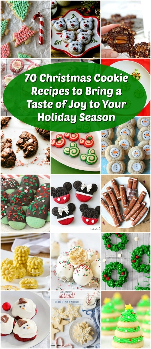 70 Christmas Cookie Recipes to Bring a Taste of Joy to Your Holiday Season