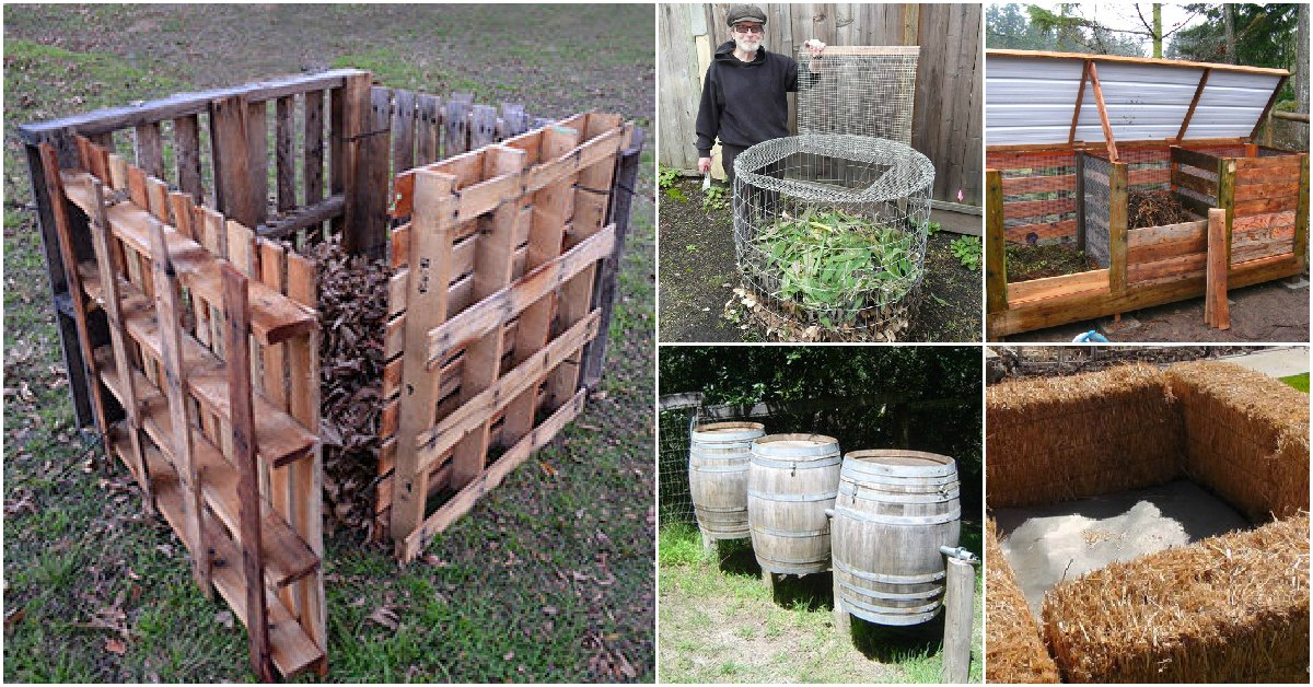35 cheap and easy diy compost bins that you can build this for Cheapest way to build a house yourself