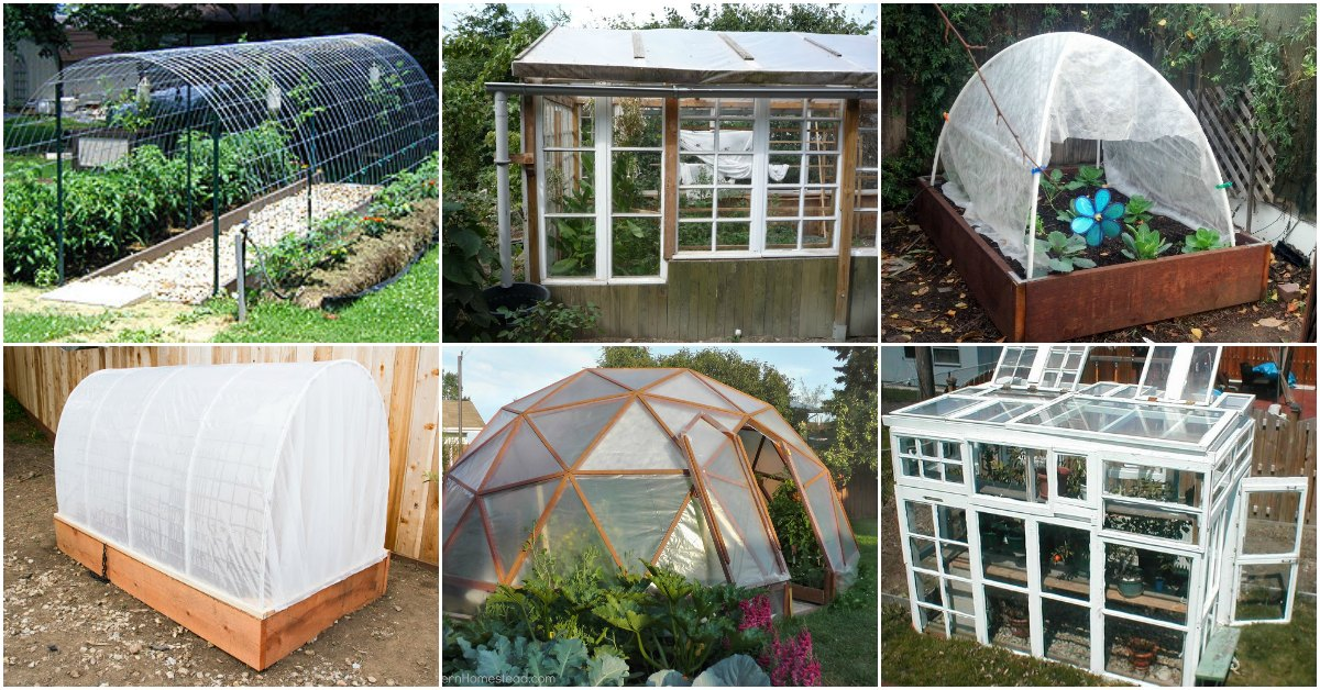 20 free diy greenhouse plans you ll want to make right for Cheapest way to build a house yourself