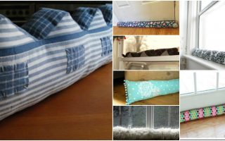 17 Creative DIY Draft Stoppers To Keep Your Home Warm And Toasty This Winter