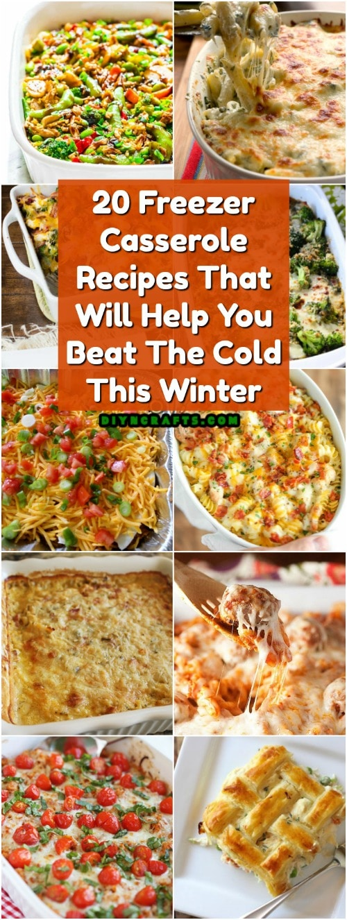 20 Freezer Casserole Recipes That Will Help You Beat The Cold This Winter