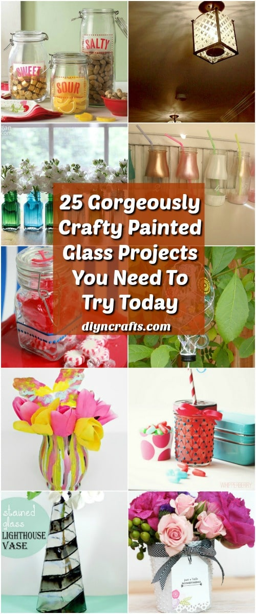 25 Gorgeously Crafty Painted Glass Projects You Need To Try Today