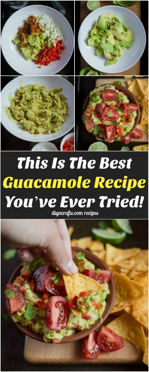 This Is The Best Guacamole Recipe You've Ever Tried!