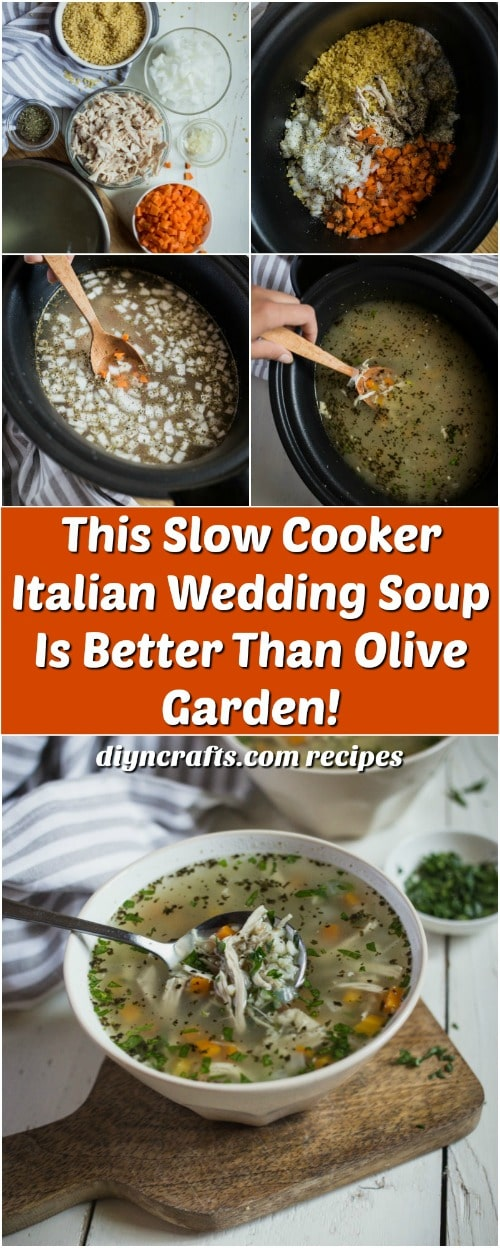 This Slow Cooker Italian Wedding Soup Is Better Than Olive Garden!