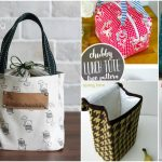 10 Easy To Sew DIY Lunch Bags And Pouches For Kids And Adults