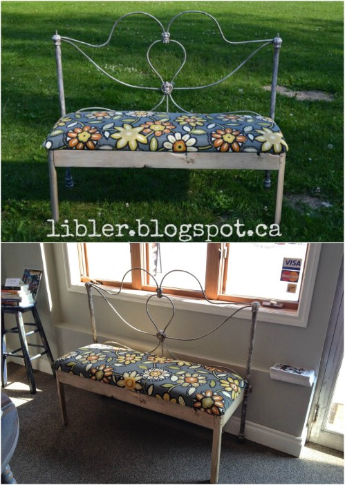 15 Brilliantly Creative Ways To Upcycle An Old Bed Frame   DIY