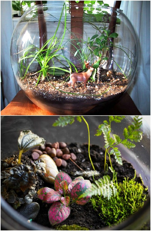 10 Fabulous Fish Bowl Upcycling Ideas For Stunning Home Decor - DIY ...