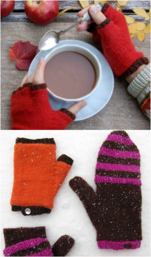 15 Warm and Snuggly Crochet Mitten Patterns