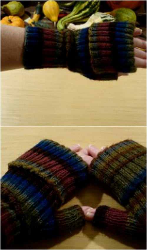 Easy Knit iPhone Mitts