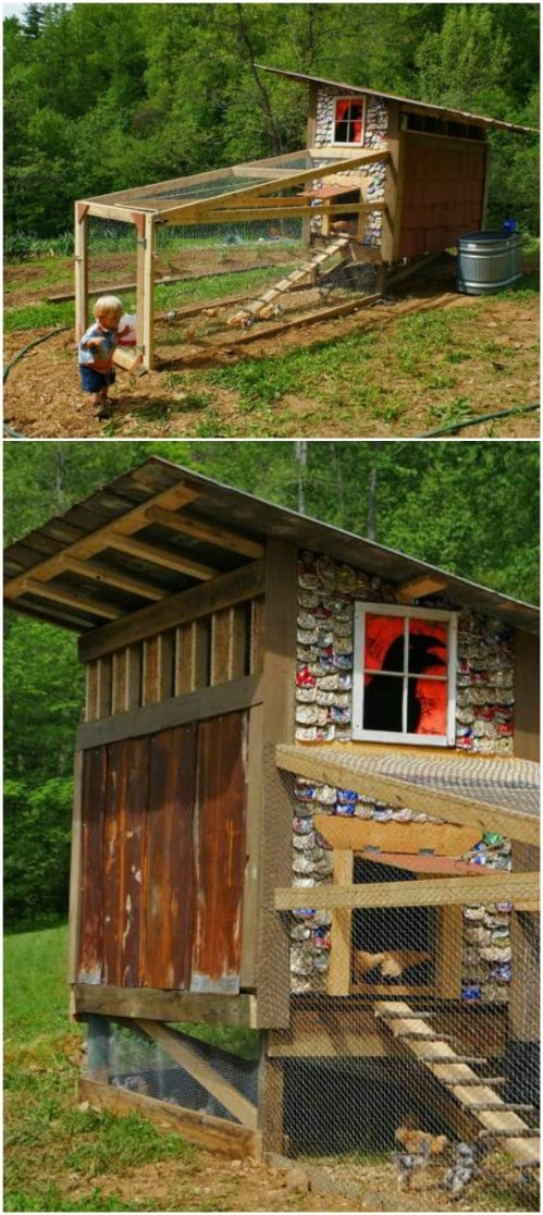 Chicken Coop With Shingles