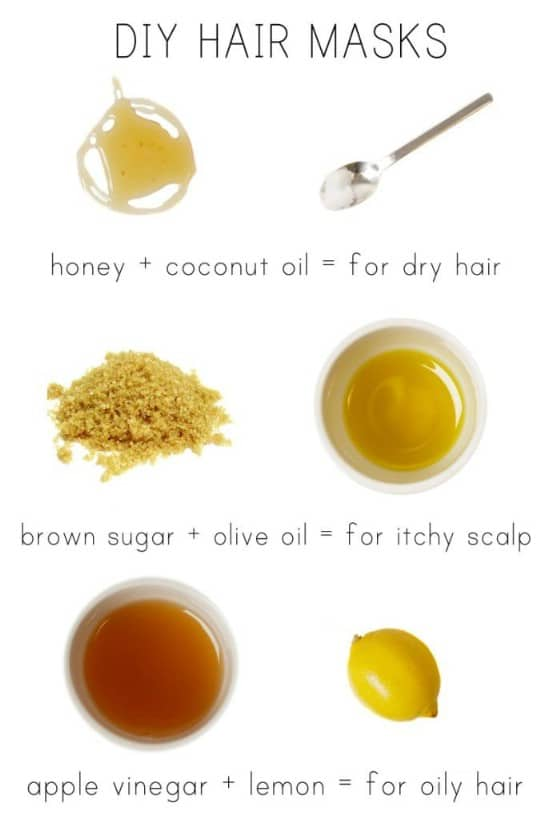 Oily Hair Mask
