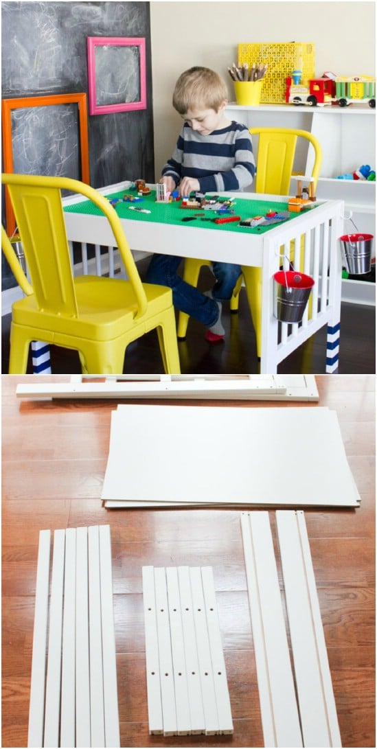 DIY Lego Table – IKEA Hack