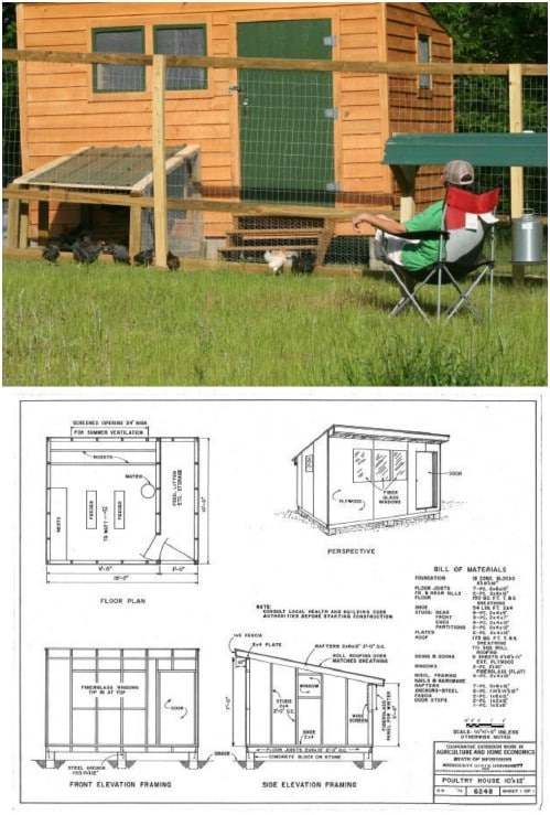 DIY Sunrise Chicken Coop