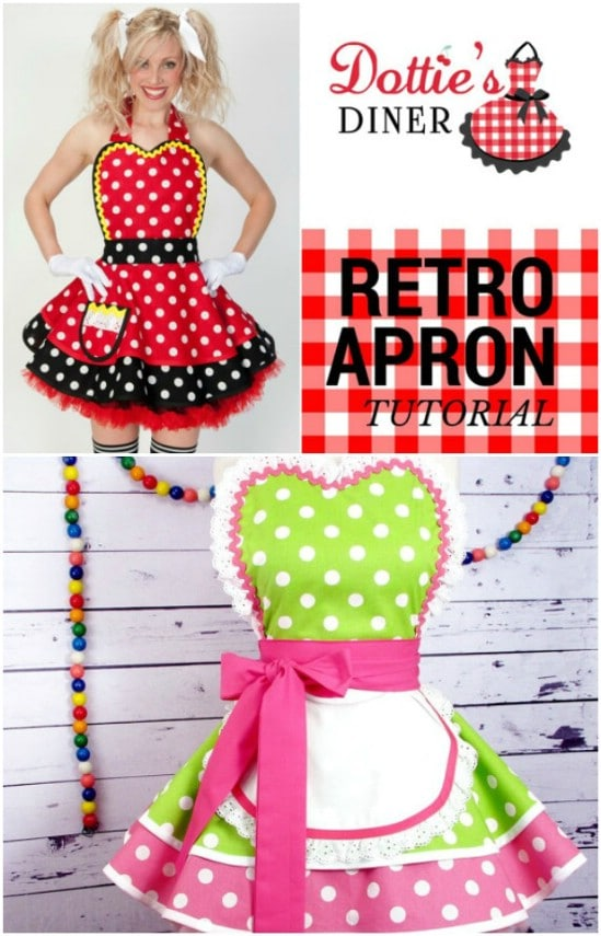 40 DIY Aprons With Free Patterns That Will Keep You Fashionable Adorable Apron Pattern