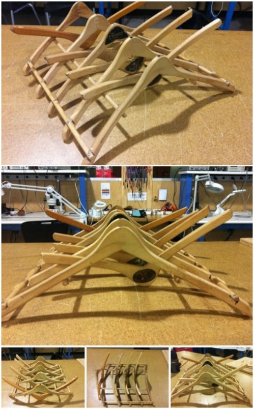 16 Amazing Things You Can Diy From Repurposed Hangers