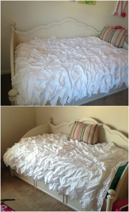 Diy Inspiration Daybeds: 25 DIY Shabby Chic Bedding Projects That Bring Vintage