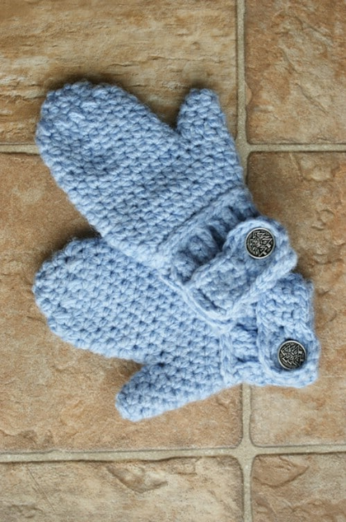 30 Warm And Cozy Mitten Patterns You Can Knit Or Crochet Today - DIY ...