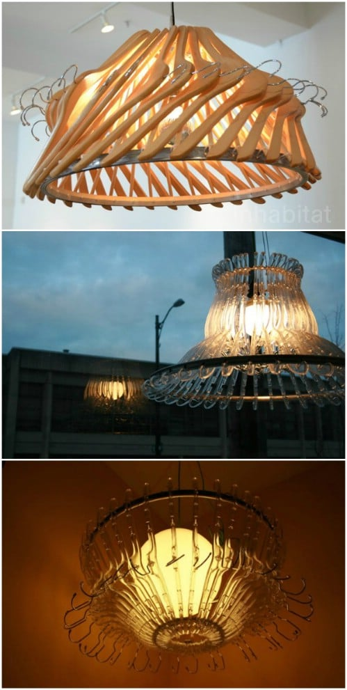 16 Amazing Things You Can DIY From Repurposed Hangers - DIY & Crafts