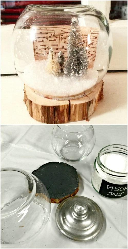 Easy DIY Fish Bowl Snow Globes