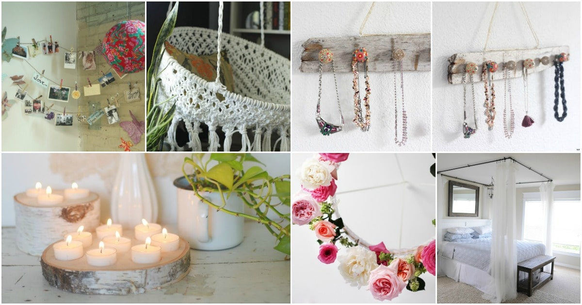 20 diy boho chic decor ideas that add charm to your home diy crafts - Boho chic deco ...