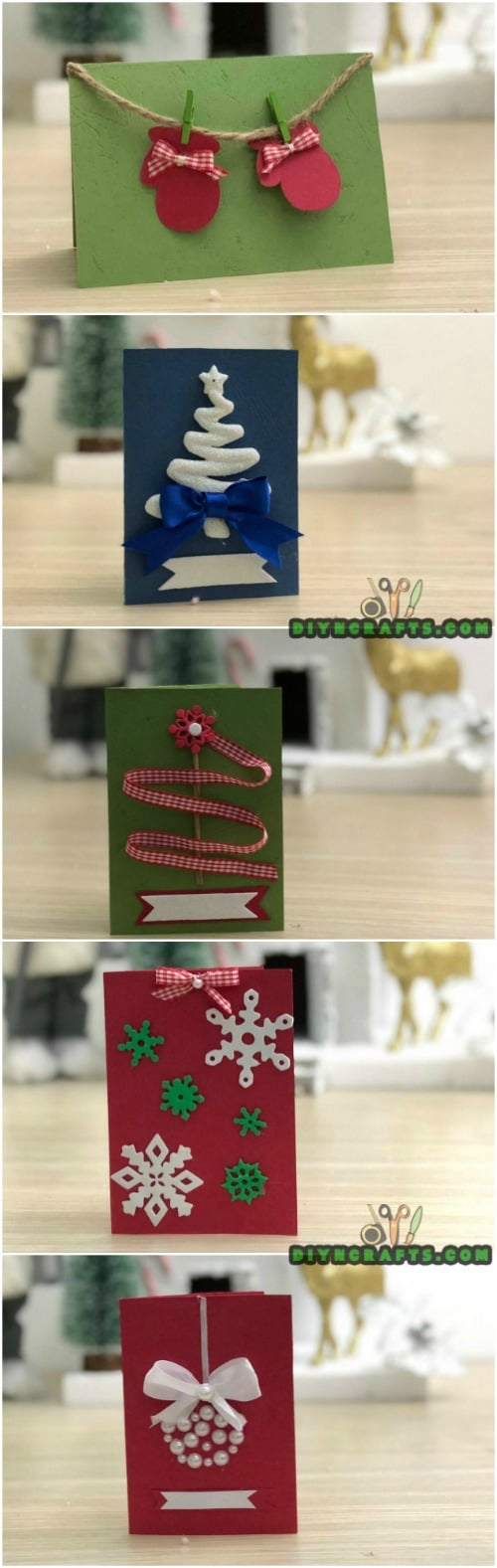 Send Your Seasons Greetings In Style With These 5 Diy Christmas