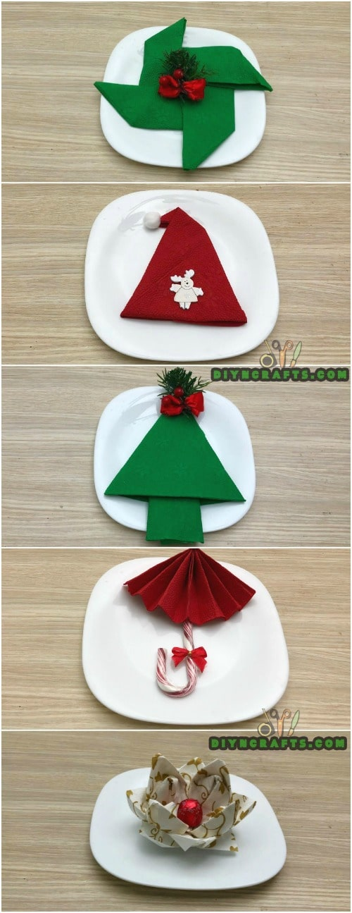 napkin craft ideas how to fold these 5 easy and decorative napkins 2531