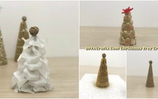 5 Easy Ways to Make Cute Miniature DIY Christmas Trees