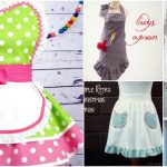 20 DIY Aprons With Free Patterns That Will Keep You Fashionable