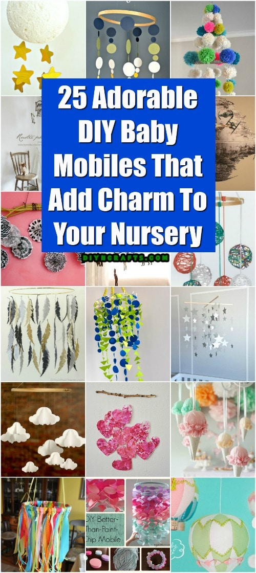 25 Adorable Diy Baby Mobiles That Add Charm To Your Nursery Diy