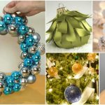 10 Brilliant And Festive Ways To Upcycle Broken Christmas Ornaments