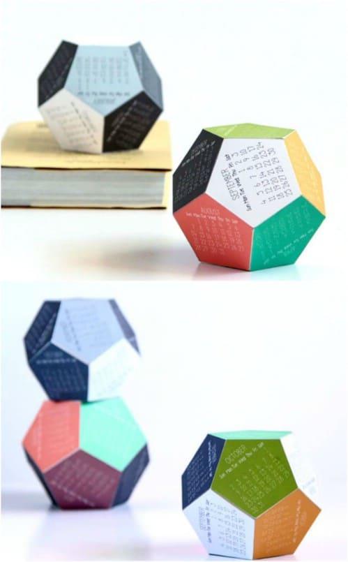 Easy 3D Printable Calendar