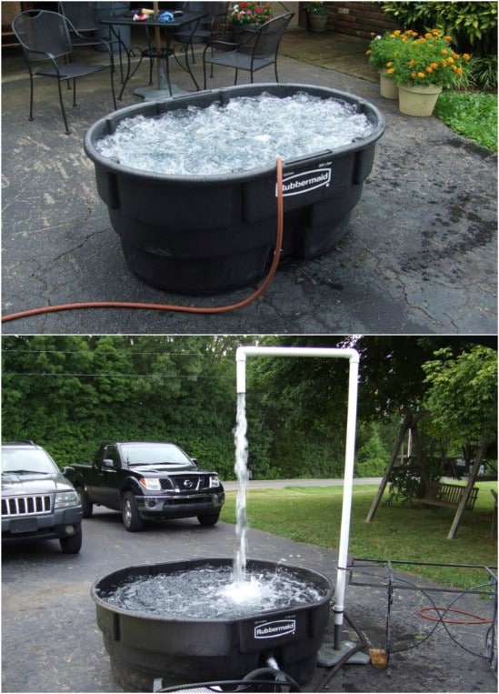Cheap And Easy Single Person Hot Tub