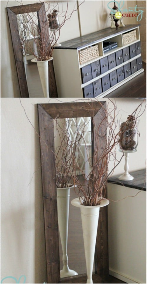 Exceptional Diy Home Decor Project Ideas Part - 11: DIY Home Decor Project Ideas:14 Creative Mirrors To Make