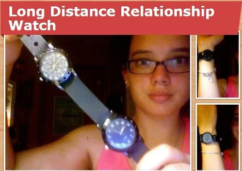 DIY Long Distance Relationship Watch